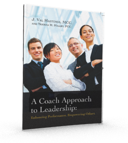Coach Appoach to Leadership textbook 3-D cropped